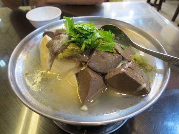 老地方豆腐美食, 清蒸鴨血臭豆腐