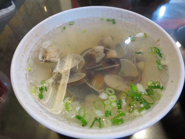 老地方豆腐美食, 薑絲蛤蜊湯(小)
