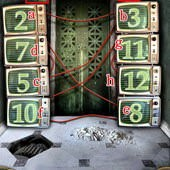 App, 逃出豪宅(Escape The Mansion), Level 162, 解法