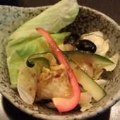 漁樂生魚片.丼飯 永春店, 生菜