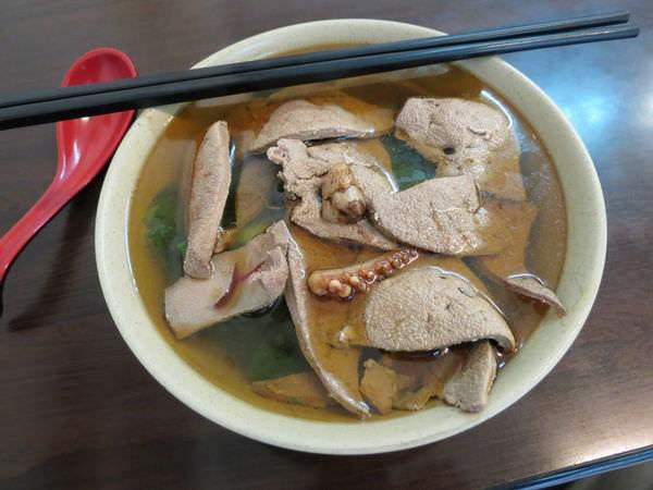 安和麻油雞快炒小吃, 豬肝麵線