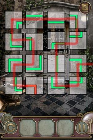 App, 逃出豪宅(Escape The Mansion), Level 121, 解法