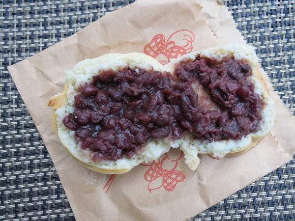 彩田紅豆餅, 紅豆口味