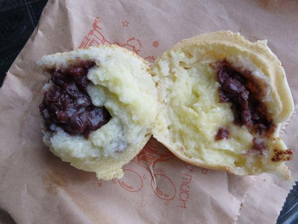 彩田紅豆餅, 紅豆+奶油口味