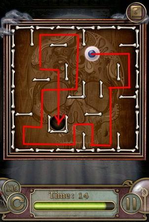 App, 逃出豪宅(Escape The Mansion), Level 110, 解法