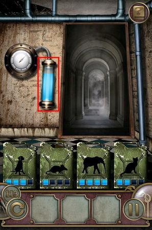 App, 逃出豪宅(Escape The Mansion), Level 113, 解法