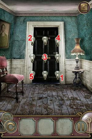 App, 逃出豪宅(Escape The Mansion), Level 117, 解法