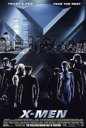 Movie, X-Men (X戰警) (變種特攻), 電影海報