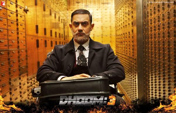 Movie, Dhoom 3(幻影殺陣)(幻影車神3), 電影海報
