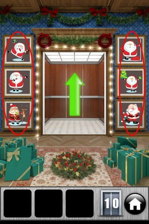 100 Doors 2013 christmas Level 10