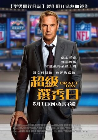 Movie, Draft Day (超級選秀日)(選秀之日), 電影海報