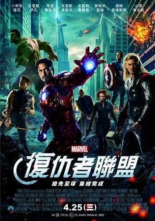 Movie, The Avengers(復仇者聯盟), 電影海報