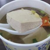黃記麻辣蚵仔麵線、鴨血、臭豆腐(育達店), 清燉臭豆腐鴨血