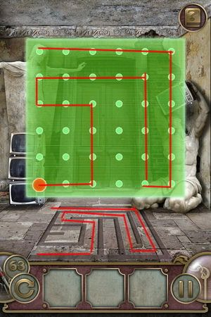 App, 逃出豪宅(Escape The Mansion), Level 63, 解法