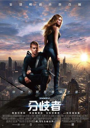 Movie, Divergent(分歧者)(分歧者·異類叛逃), 電影海報