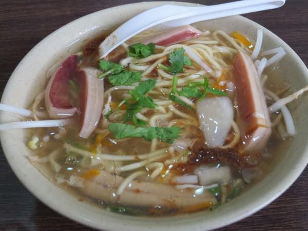 林清山魷魚羹, 沙茶魷魚羹麵