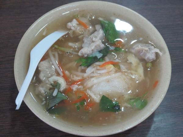 林清山魷魚羹, 肉羹米粉