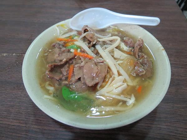 林清山魷魚羹, 羊肉羹麵