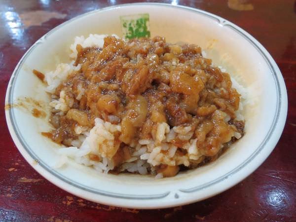 胡通化街米粉湯, 滷肉飯