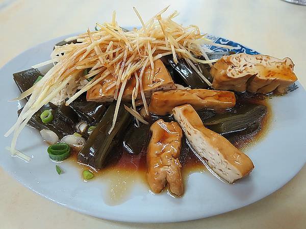 馬祖麵館(瑞安街總店), 豆干+海帶