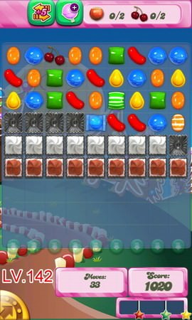 Candy Crush Saga Level 142