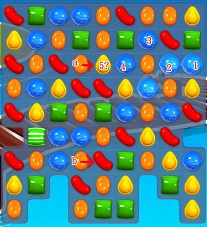 Candy Crush Saga, 彩色炸彈