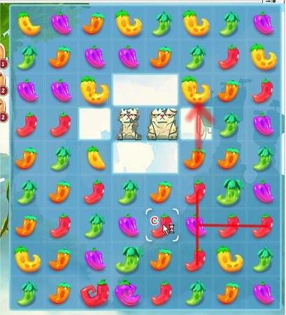 Pepper Panic Saga, 關卡解法, Level 36