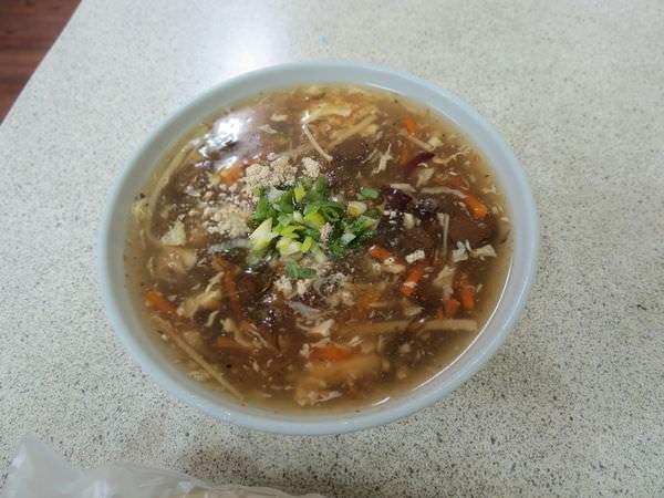 鍋貼專賣店(湳山戲院), 酸辣湯