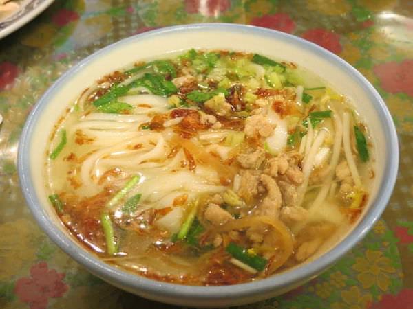 利興飲食店(內灣黃婆婆客家菜), 湯板條