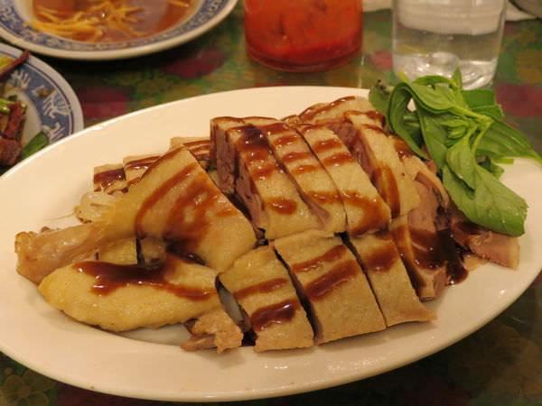 利興飲食店(內灣黃婆婆客家菜), 白斬鴨肉