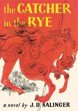 Book, The Catcher in the Rye(麥田捕手)