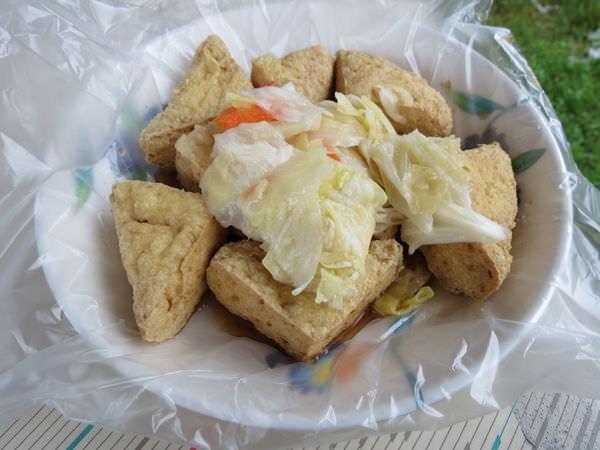 弘道橋臭豆腐, 臭豆腐
