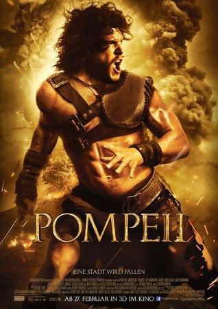 Movie, Pompeii(龐貝)(龐貝末日:天火焚城)(龐貝末日), 電影海報