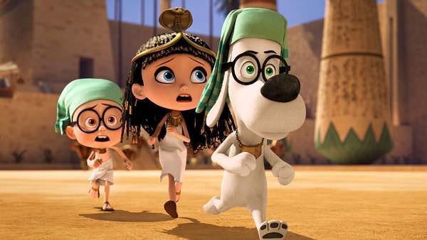 Movie, Mr. Peabody & Sherman(皮巴弟先生與薛曼的時光冒險)(百寶狗先生與細蚊時光機大歷險)(天才眼鏡狗), 電影劇照