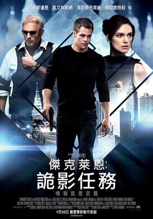 movie, Jack Ryan: Shadow Recruit(傑克萊恩︰詭影任務)(一觸即發)(驚天諜變:魅影特攻)