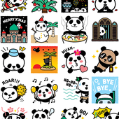 Facebook, 貼圖商店, 1600 貓熊之旅 2