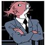 Facebook, 貼圖商店, 上班族魚先生