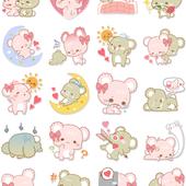 Facebook, 貼圖商店, 甜心小熊