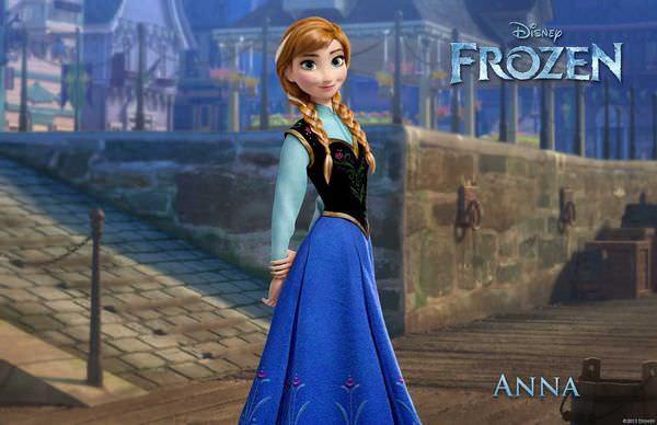 電影, Frozen(冰雪奇緣), Anna