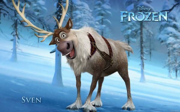 電影, Frozen(冰雪奇緣), Sven