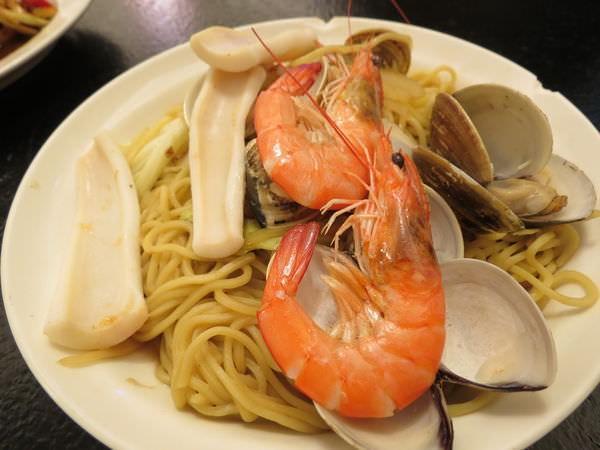 醉翁漁港海鮮, 海鮮炒麵