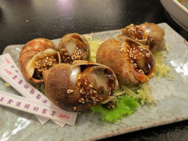 醉翁漁港海鮮, 烤風螺