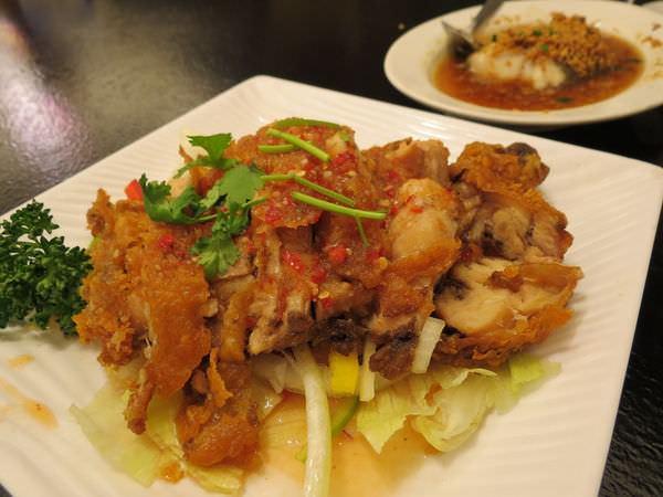 醉翁漁港海鮮, 泰式椒麻雞