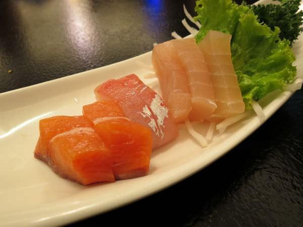 醉翁漁港海鮮, 生魚片