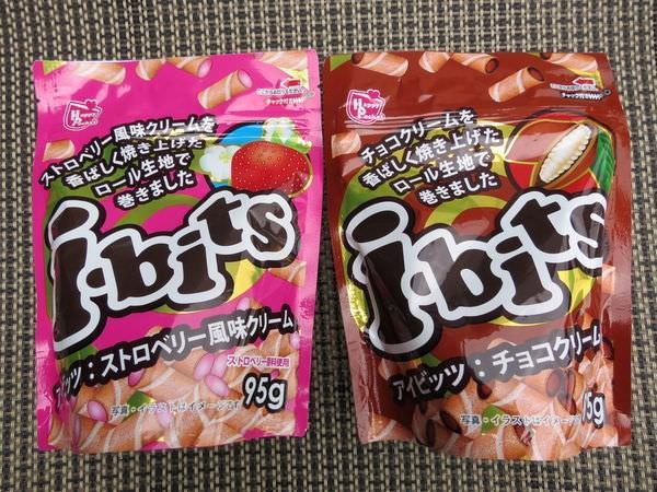 日本 i-bits 迷你捲心酥
