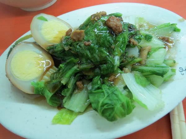 晴光意麵 京華城總店, 小菜