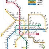 台北捷運, 行駛路網圖, 150706