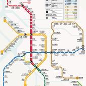 台北捷運, 行駛路網圖, 130629