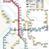 台北捷運, 行駛路網圖, 110227