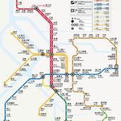 台北捷運, 行駛路網圖, 120105
